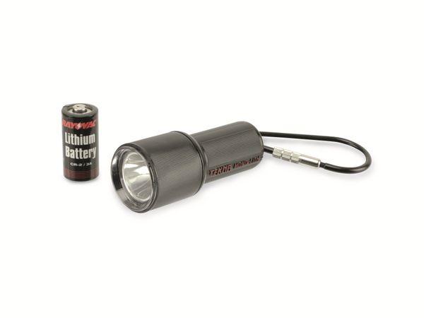 Taschenlampe TEKNA M-4411/MLTH-B Glühlampe, schwarz - Produktbild 1