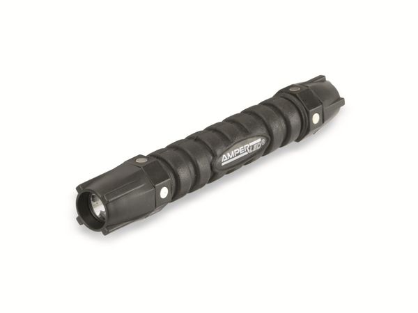 Taschenlampe AMPERCELL AMPERLED, Profi LED, 0,5 W, schwarz - Produktbild 2