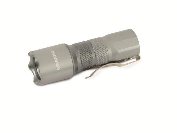 LED-Taschenlampe GRUNDIG, 0,5 W, 15 lm, Aluminium - Produktbild 1
