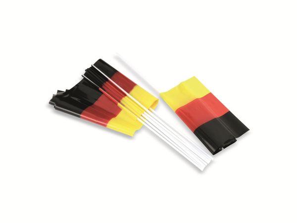 Deutschland-Fahne, 12 Stück - Produktbild 2