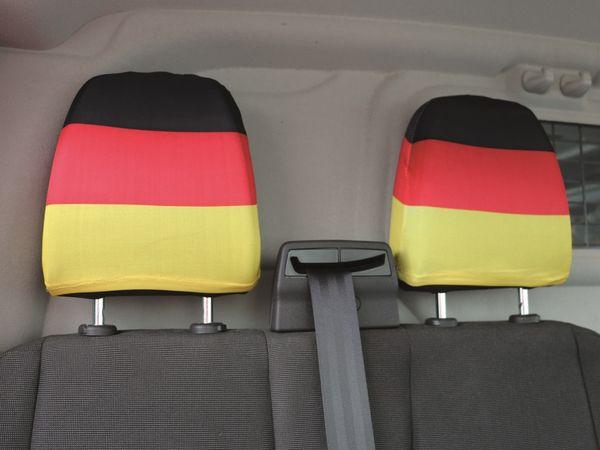 Kopfstützenüberzug Deutschland, 2 Stück - Produktbild 1