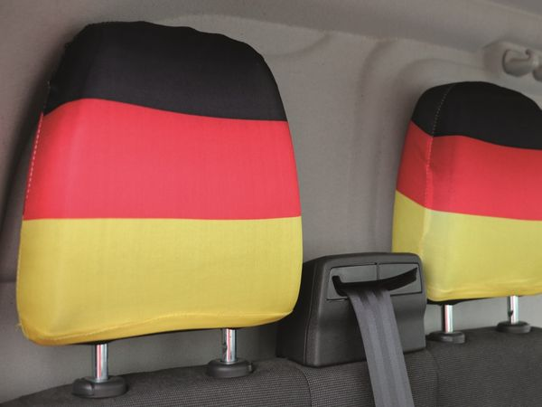 Kopfstützenüberzug Deutschland, 2 Stück - Produktbild 2