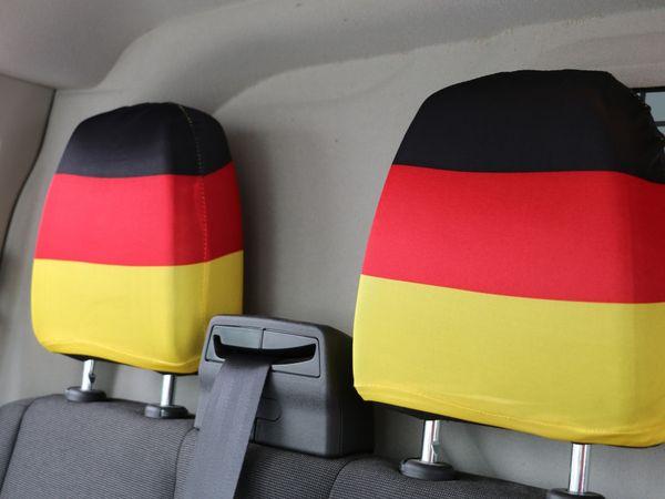 Kopfstützenüberzug Deutschland, 2 Stück - Produktbild 3