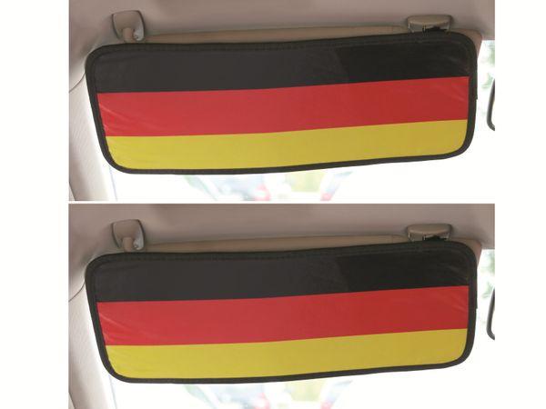 Sonnenblende Deutschland, 2 Stück - Produktbild 1