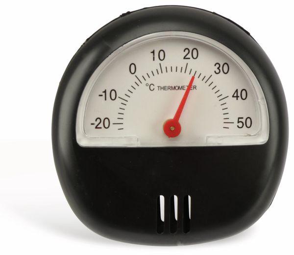 Thermometer. schwarz - Produktbild 1