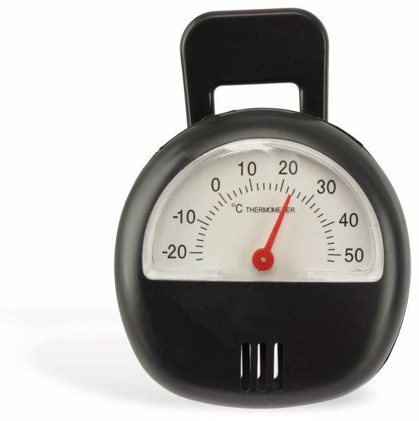 Thermometer. schwarz - Produktbild 2