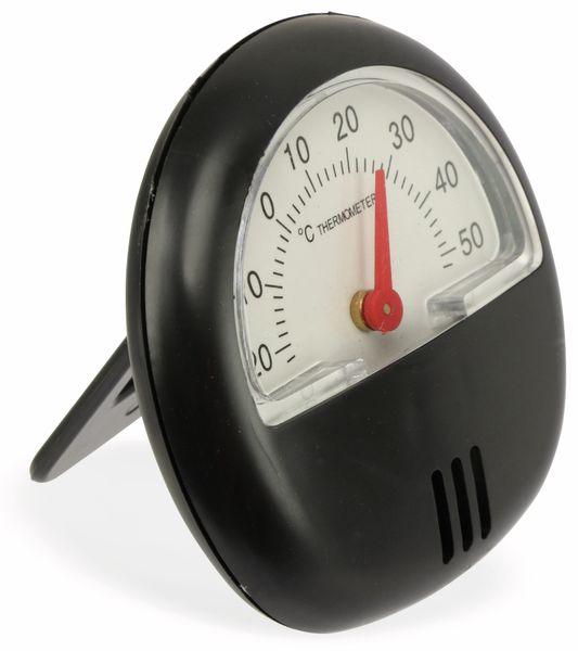 Thermometer. schwarz - Produktbild 3