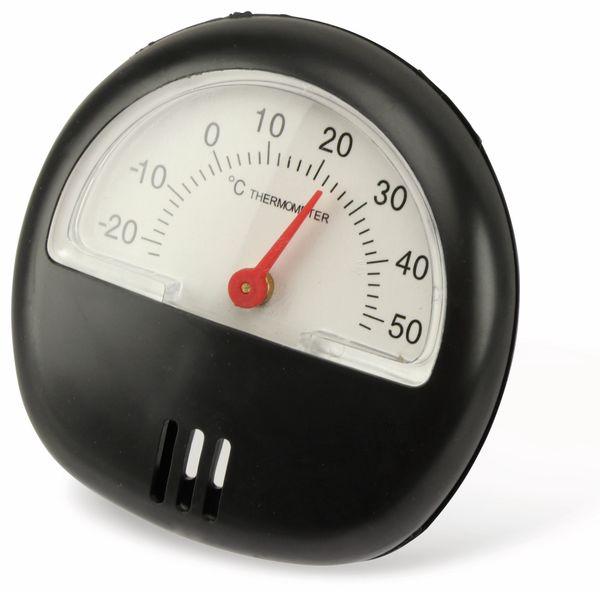 Thermometer. schwarz - Produktbild 4