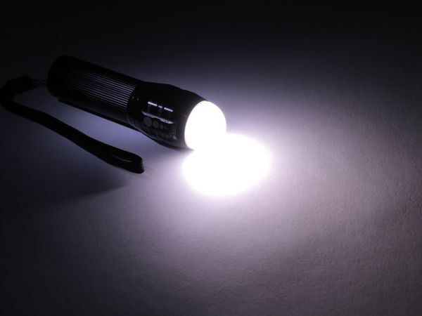 LED-Taschenlampe, Alu, 5 W CREE-LED - Produktbild 3