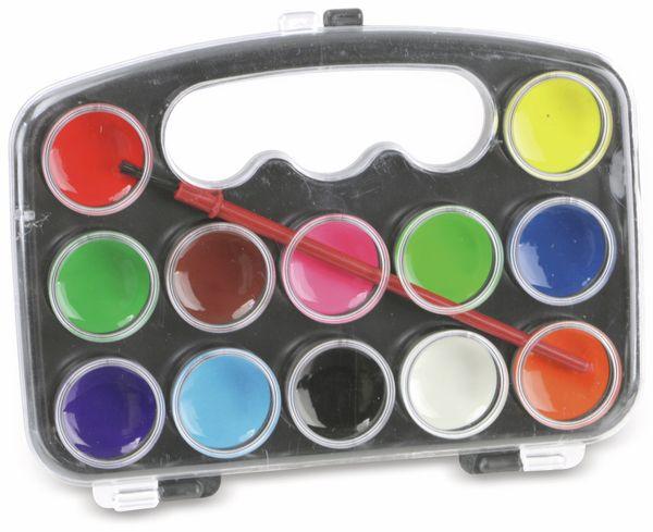 Wasserfarben-Set, 12 Farben - Produktbild 1