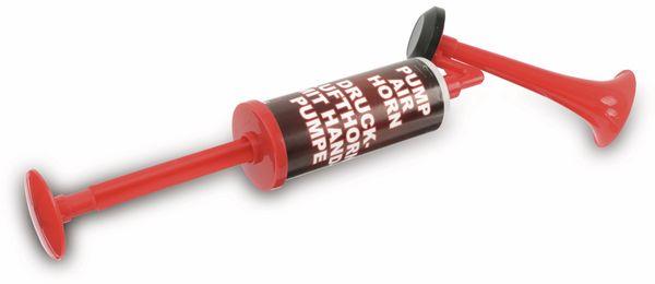 """Druckluft-Fanfare """"Air Horn"""" mit Handpumpe - Produktbild 1"""
