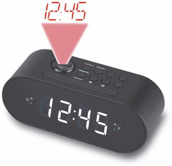 Uhrenradio DENVER CRP-717BLACK, B-Ware - Produktbild 1