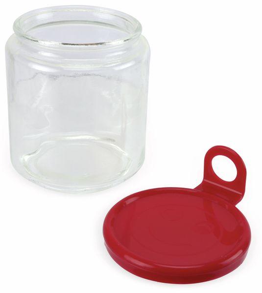 Glas mit Aufhänger, mittel, 85x100 mm - Produktbild 2