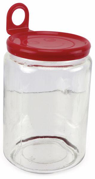 Glas mit Aufhänger, groß, 85x125 mm - Produktbild 1