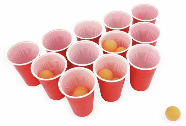 Beer Pong, 24 Becher, 24 Kugeln - Produktbild 1