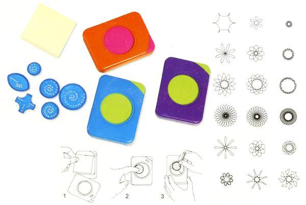 Spiral-Zeichenschablone - Produktbild 5