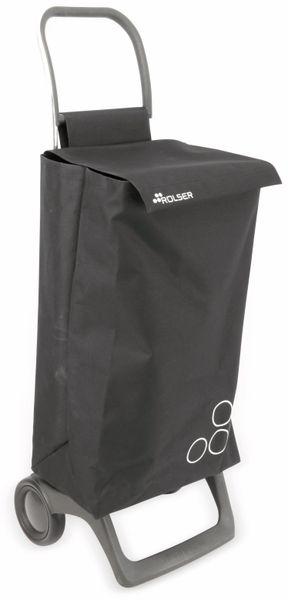 Einkaufstrolly ROLSER, Aluminium, extra leicht, schwarz