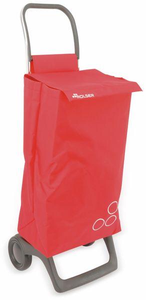 Einkaufstrolly ROLSER, Aluminium, extra leicht, rot