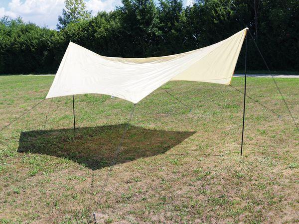 Sonnensegel, FLX-SS-1, 430x350cm, hexagon, B-Ware - Produktbild 1