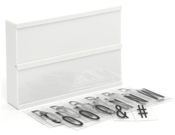 LightBox GRUNDIG, A5, 5 LED`s, 60 Letter, batteriebetrieb - Produktbild 3