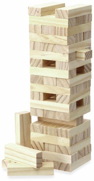 Holzklotz Stapelspiel, 57-teilig - Produktbild 1