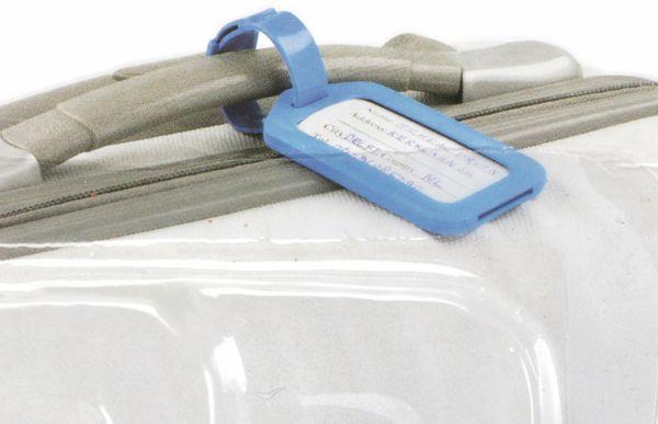 Gepäckanhänger-Set DUNLOP travel, 3 teilig - Produktbild 3