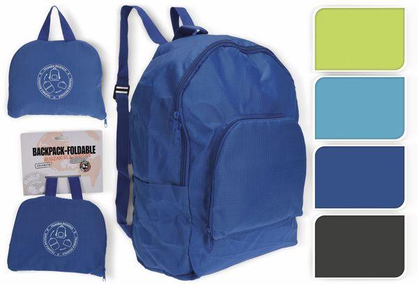 Rucksack, faltbar, verschiedene Farben