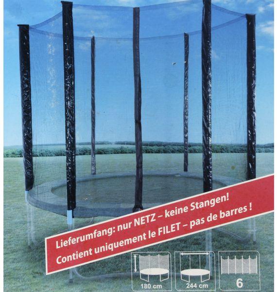 Sicherheitsnetz für Trampolin, Ø244 cm