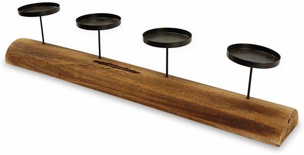Kerzenständer, für 4 Stumpenkerzen - Produktbild 2