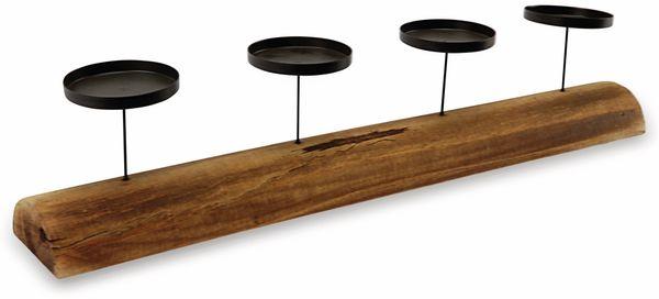 Kerzenständer, für 4 Stumpenkerzen - Produktbild 3