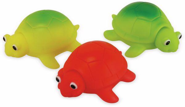 LED Schildkröten 3er Set, farbig, Badewannenspaß