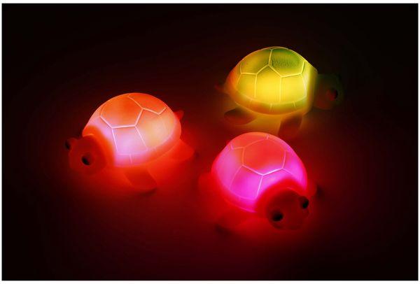 LED Schildkröten 3er Set, farbig, Badewannenspaß - Produktbild 2