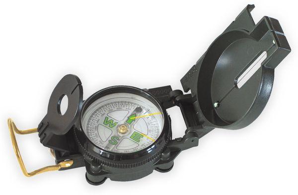 Marschkompass, schwarz, 360°/64° - Produktbild 1
