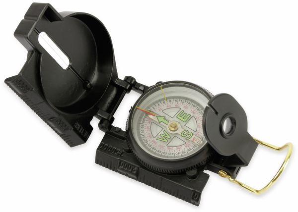 Marschkompass, schwarz, 360°/64° - Produktbild 2