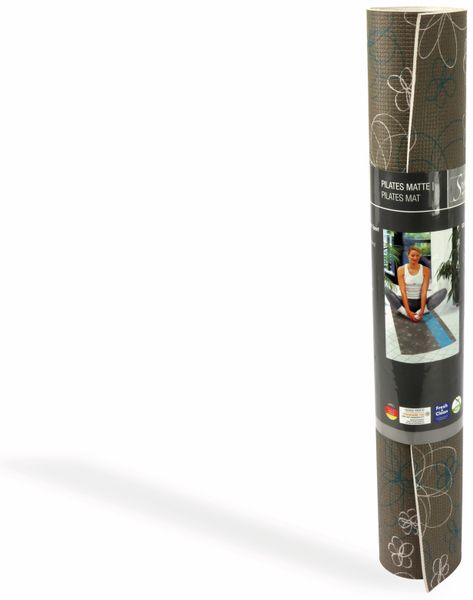Sportmatte, Style MY HOME, 180x61x0,4 cm, braun/petrol - Produktbild 2
