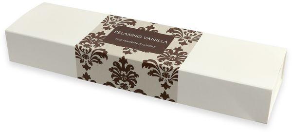 "4er-Set Duftkerzen Geschenkset SPA-Line, WIEDEMANN ""Relaxing Vanilla"", Elfenbein, 30/60mm - Produktbild 2"