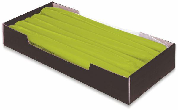 12er-Set, Tafelkerzen, WIEDEMANN, grün, 25x250 mm - Produktbild 2