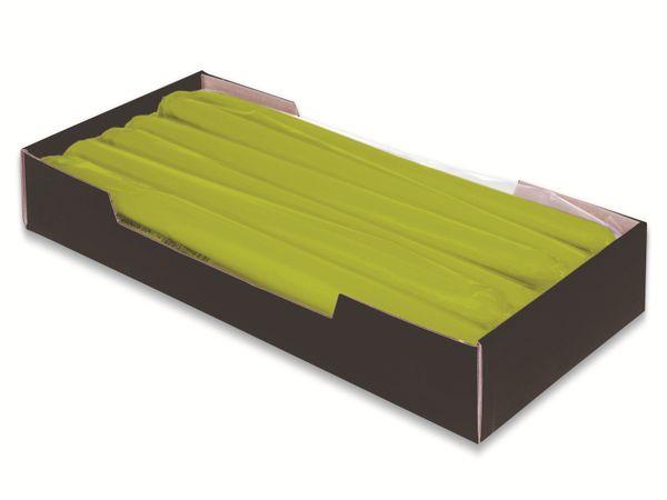 Tafelkerzen WIEDEMANN, Grün, 12 Stück, 250/25 mm - Produktbild 2