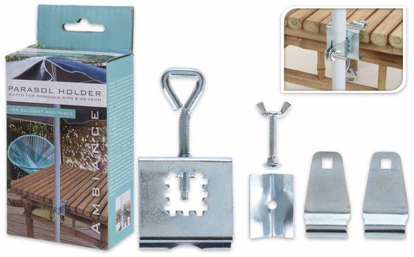 Sonnenschirmständer, Metall - Produktbild 2