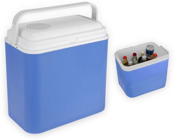 Kühlbox, 24l, 12V-/240V~, Blau, für Warm/Kalt