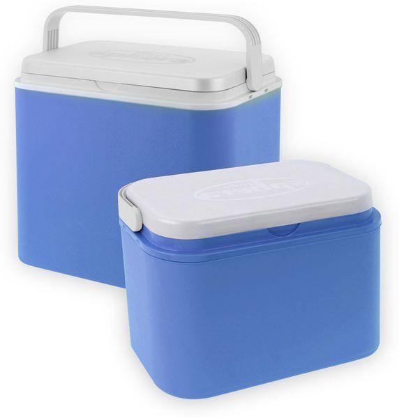 Kühlbox-Set, 10/24 Liter, Blau, 2 Stück