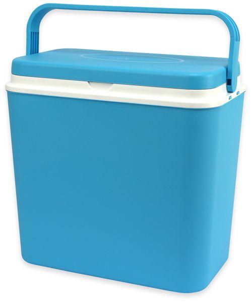 Kühlbox, 24L, 39x25x38 cm, blau