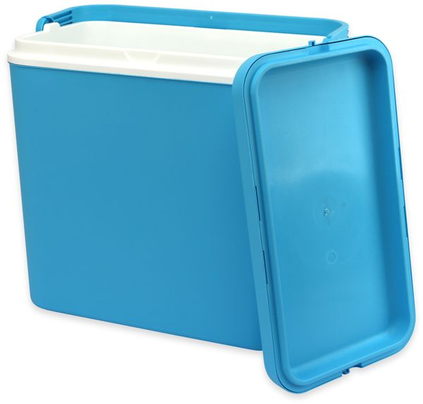 Kühlbox, 24L, 39x25x38 cm, blau - Produktbild 2
