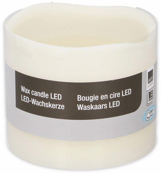 LED-Dekokerze ARTI CASA, 15x12,5 cm - Produktbild 2