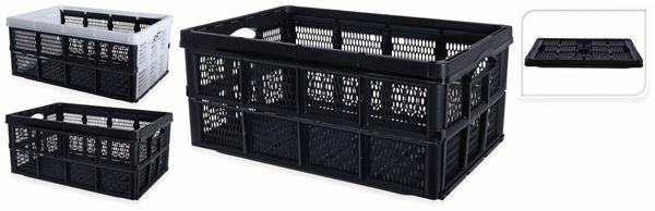 Klappbox, 32 l, 48x35x24 cm, sortiert