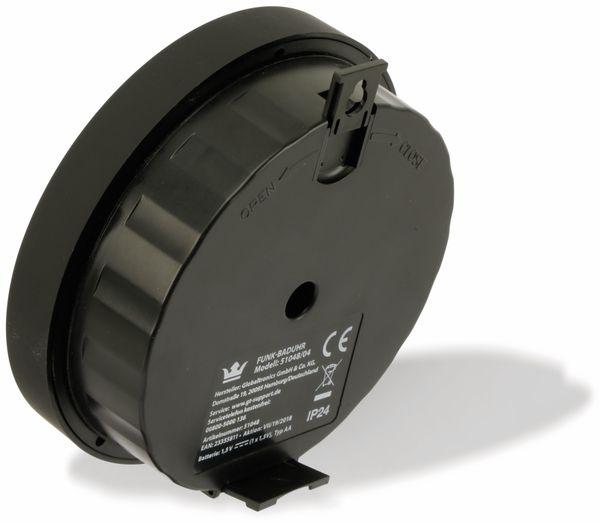 Funk Badezimmeruhr, digital, Ø150mm, Bastelware - Produktbild 3