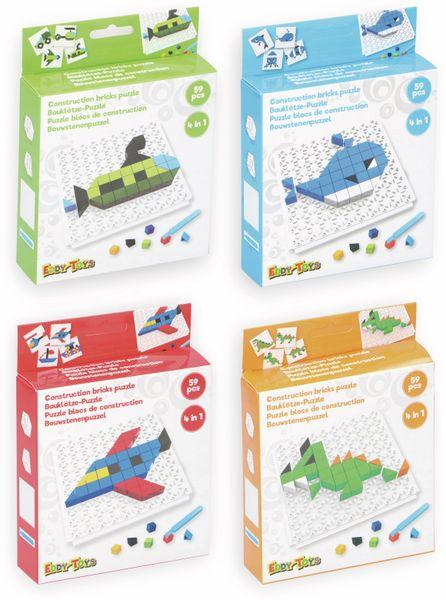 Bauklötze-Puzzle-Set, Flieger, 4 in 1, 59-teilig. - Produktbild 2