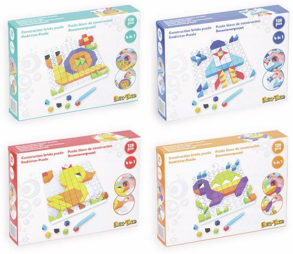 Bauklötze-Puzzle-Set, Ente, 4 in 1, 128-teilig. - Produktbild 2