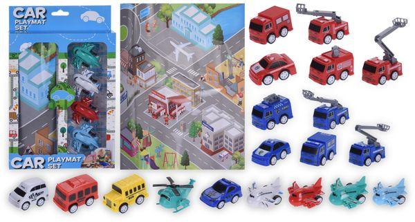 Spielzeugauto-Set Feuerwehrauto, 5-teilig