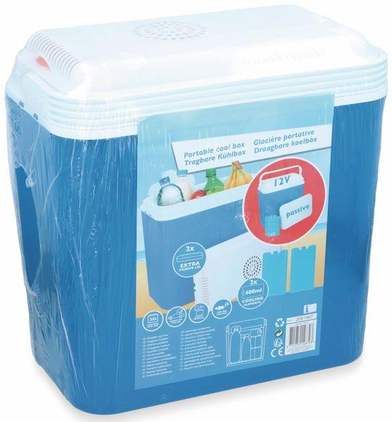Kühlbox, 22L, 12V, blau - Produktbild 2